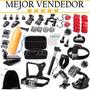 Kit 50 Accesorios Para Camaras Gopro Hero6 Hero5 Hero4 Hero3 | MERCADOLARA1981
