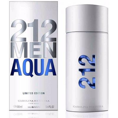 perfume 212 aqua 100 ml hombre limited edition