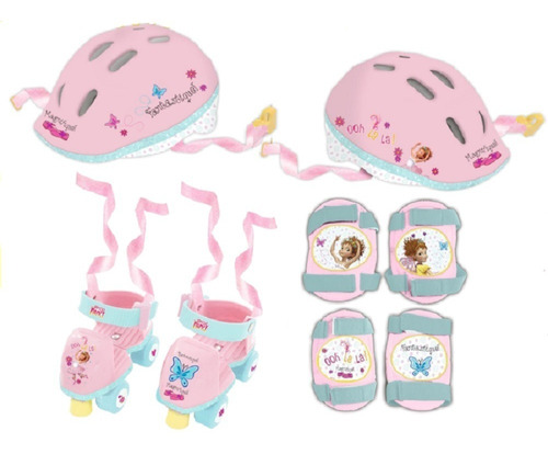 Mini Combo De Patinaje Fancy Nancy Disney