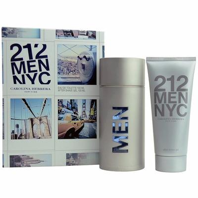 212 men carolina herrera nyc perfume + after shave