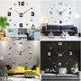 4 Diseño Moderno Diy Wall Grande Reloj 3d Espejo Superficie | AND_AGREDA