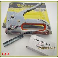 Grapadora Industrial Pistola Profesional Con Grapas