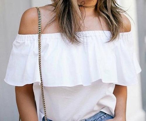 Blusas para mujer Limonni LI062 Campesinas