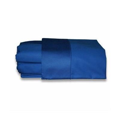Sabanas en satin color azul oscuro cama queen 4 fundas for Cama queen dimensiones