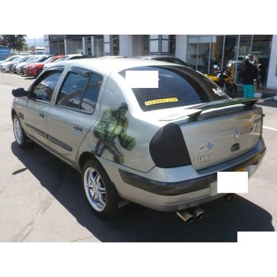 Spoiler Renault Symbol 2002 a 2009 Tercer Stop Envio Gratis
